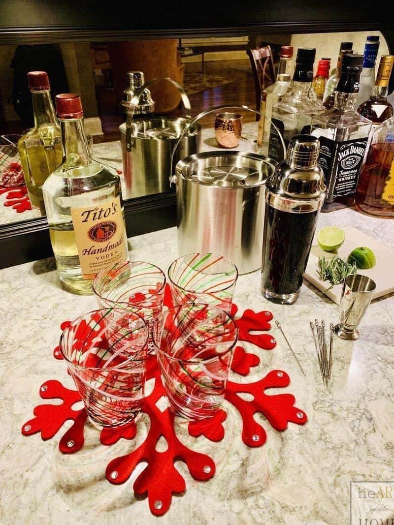 How to make a merry mule holiday cocktail